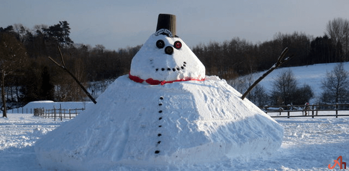 Christmas Snow Man