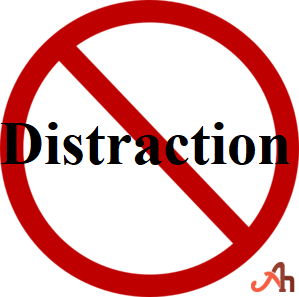 Remove All The Distraction And Interference