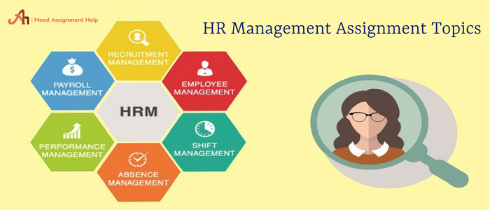 HR Management Assignment Topics