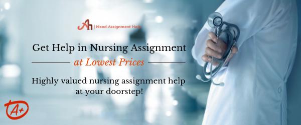 Help in Nursing Assignment