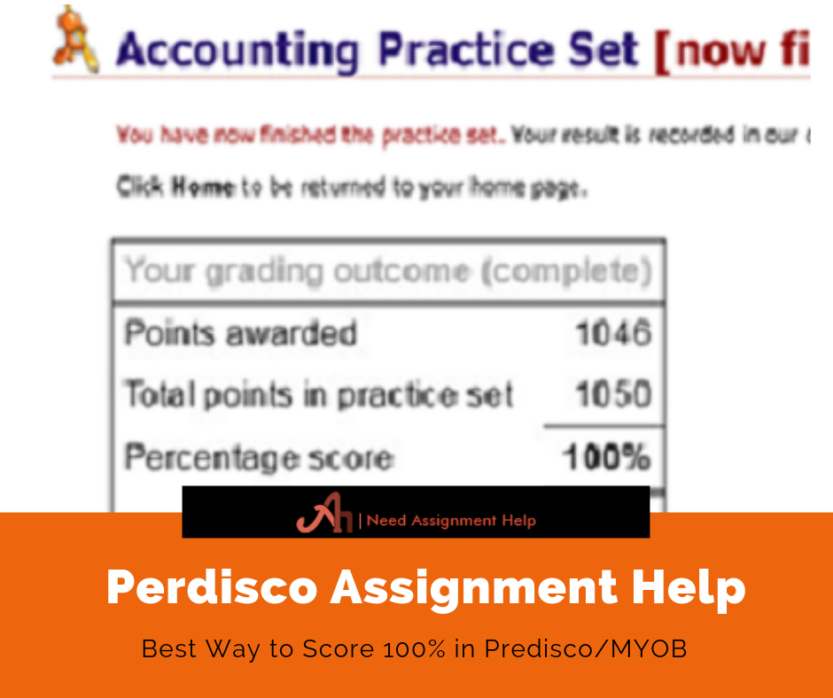 Perdisco Assignment Help