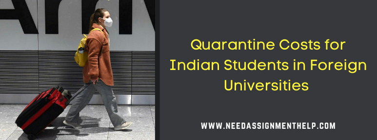Quarantine Costs for Indian Students